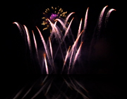 indiana fireworks displays, indiana pyrotechnics, wedding fireworks